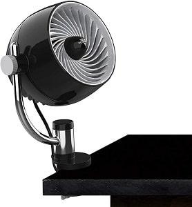 Vornado Pivot3C Compact Air Circulator Fan for Bunk Bed