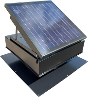 30-Watt Solar Attic Fan