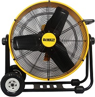 DEWALT DXF-2490 High-Velocity Industrial Floor Fan