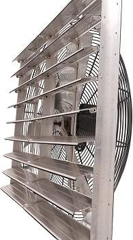 Fanpac S36 Wall-Mounted Single Speed Shutter Exhaust Fan