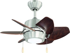 "Litex Gaskin GA24BNK6L Sleek 24"" Ceiling Fan"