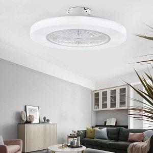 Orillon Thin Modern Bladeless Ceiling Fan