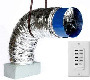 QA-Deluxe Energy Efficient Whole House Fan