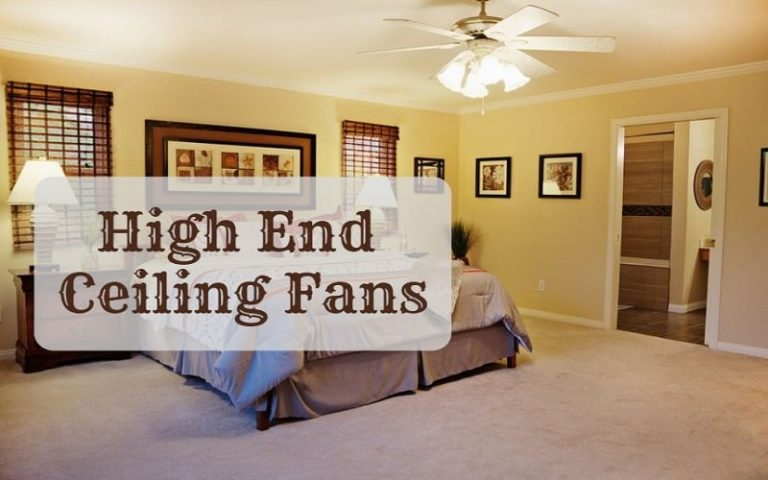high end ceiling fans