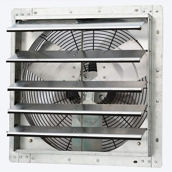 """iLiving 18"""" Wall Mounted Whole House Exhaust Fan"""