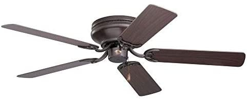 Emerson Snugger Flush Mount Ceiling Fan For 7 Foot Ceilings