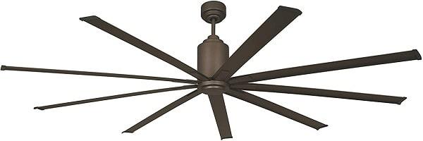 Big Air 96 inch Highest CFM Industrial Indoor/Outdoor Ceiling Fan