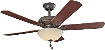 Brightwatts 52 Inch Ceiling Fan With Bright LED Lights