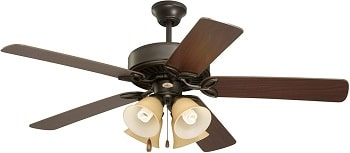 Emerson CF711ORS Pro Series II Indoor Ceiling Fan With Light