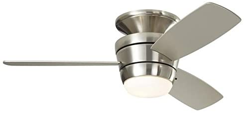 Harbor Breeze Mazon Brushed Nickel Ceiling Fan with LED Light Kit