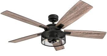 Honeywell Rustic Barnwood Blades Ceiling Fan