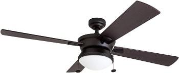 Prominence Home ETL Damp Rated LED Light Ceiling Fan