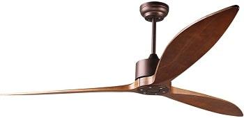 Reiga Modern Smart Oil-Rubbed Bronze Ceiling Fan