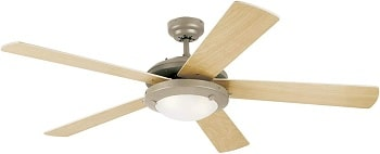 Westinghouse Lighting Comet Indoor Ceiling Fan with Light