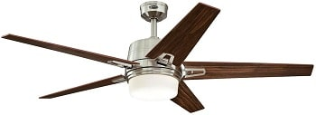 Westinghouse Lighting Indoor Ceiling Fan With Dimmable LED Light Kit