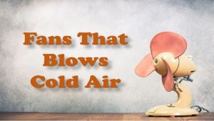 Fans That blows cold air