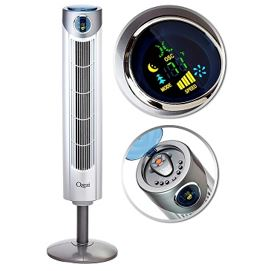 Ozeri Ultra Oscillating Tower Fan That Blows Cold Air