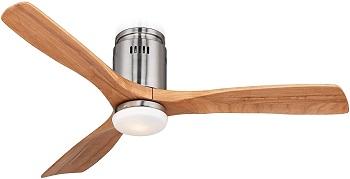 Possini Euro Design Admiralty Unique Modern Hugger Ceiling Fan