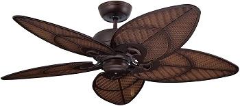 Emerson Batalie Breeze 52 Inch Wet Rated Ceiling Fan