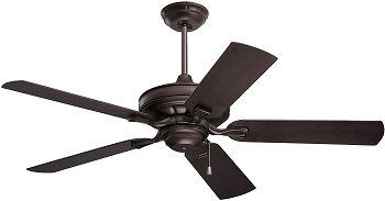 Emerson Veranda 52-Inch Weather-Resistant Outdoor Ceiling Fan