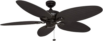Honeywell Duval Damp Rated Indoor & Outdoor Ceiling Fan