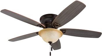 Honeywell Glen Alden 52 Inch Hugger Ceiling Fan