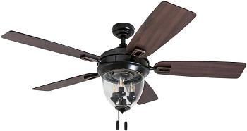 Honeywell Glencrest 52-inch ETL Damp Rated Ceiling Fan