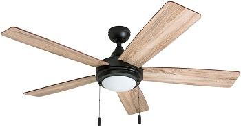 Honeywell Ventnor 52 Inch Bronze Ceiling Fans