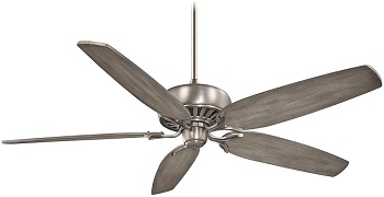 Minka-Aire F539-BNK 72 Inch Ceiling Fan For Vaulted Ceilings
