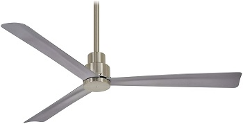 Minka-Aire F787-BNW 52 Inch Outdoor Ceiling Fan For High Ceilings