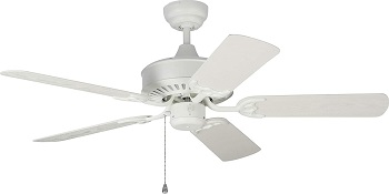 Monte Carlo Haven Outdoor Ceiling Fan with Pull Chain Wet Rated