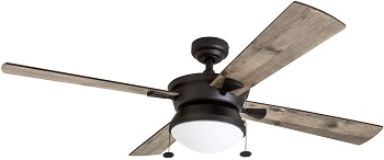 Prominence Home Auletta Damp Rated Outdoor Ceiling Fan