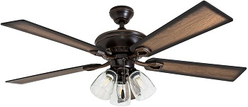 Prominence Home Glenmont Barnwood Blades Ceiling Fan Review