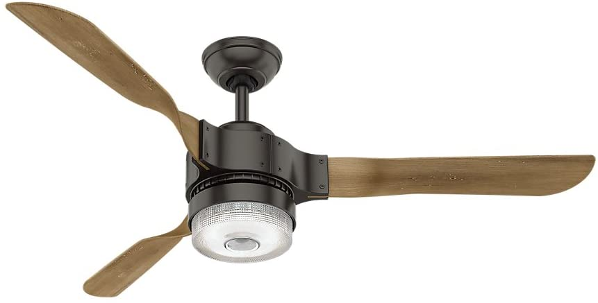 Hunter Apache Indoor Wi-Fi Ceiling Fan with LED Light