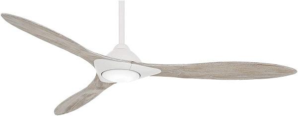 Minka Aire F868L-WHF Sleek Smart Ceiling Fan